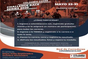 Atletas de 25 ciudades y municipios ya se encuentran inscritos al Challenge Race de Mayo