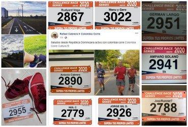 Corredores de 22 departamentos del país presentes en el Challenge Race Series