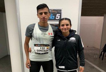 Angie Orjuela e Iván González establecen nuevos récords nacionales de maratón