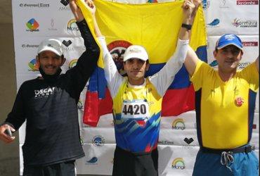 Osorio y Mazo campeones de la Vuelta a Colombia de atletismo a falta de dos etapas