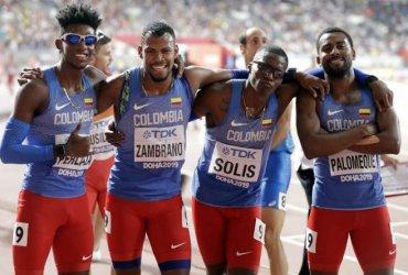 Colombia termina sexto en la final masculina 4x400 en el mundial de relevos en Polonia
