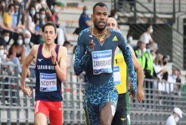 Anthony Zambrano se impone en la final de los 400 metros en la Liga de Diamante