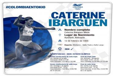 Colombianos en el atletismo de los Juegos Olímpicos Tokio 2020