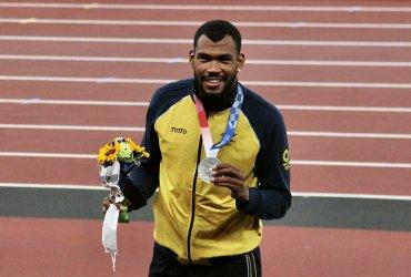 La medalla olímpica: promesa cumplida de Zambrano