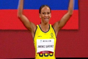Darian Jimenez gana medalla de plata en los 100 metros T38 en Tokio