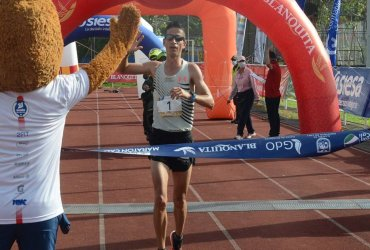 Jeisson Suárez y Kellys Arias ganaron la Media Maratón de Cali 2021