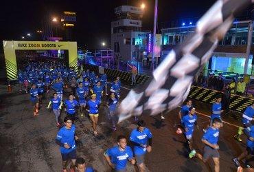Corredores rompieron sus récords personales de velocidad en el reto #NikeZoom Tocancipá