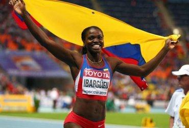 Caterine Ibargüen campeona en Jamaica y clasificada a los Juegos Olimpicos